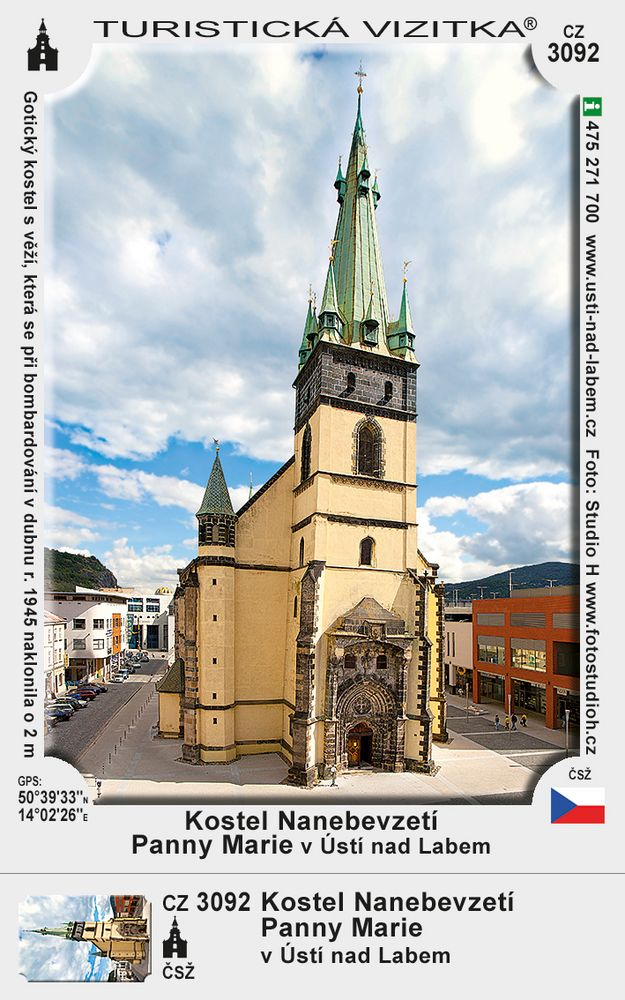 Kostel N. Panny Marie v Ústí n. Labem