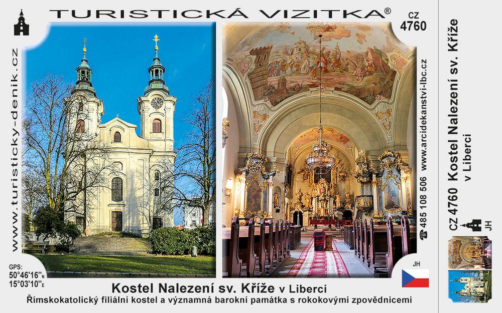 Kostel Nalezení sv. Kříže v Liberci