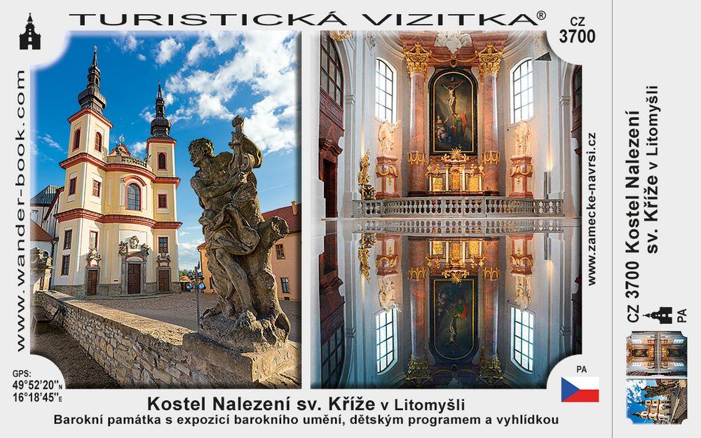 Kostel Nalezení sv. Kříže v Litomyšli