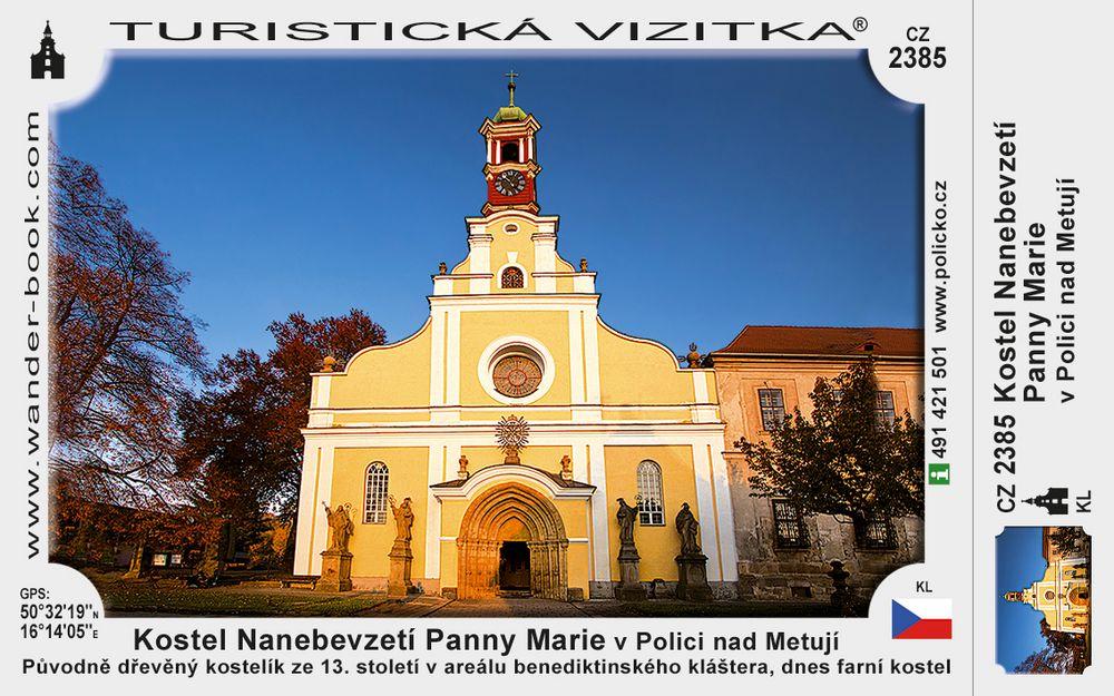 Kostel Naneb. Panny Marie v Polici n. M.