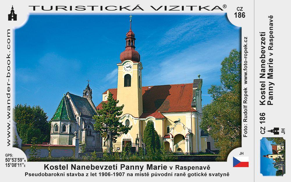 Kostel Naneb. Panny Marie v Raspenavě