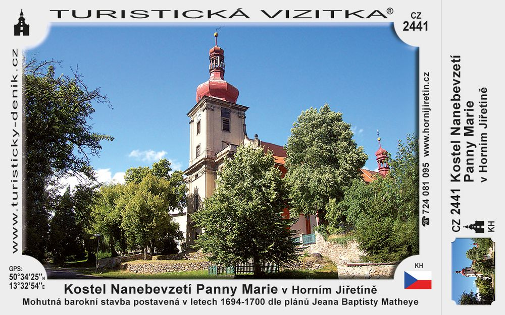 Kostel Nanebevzetí P. Marie v H. Jiřetíně