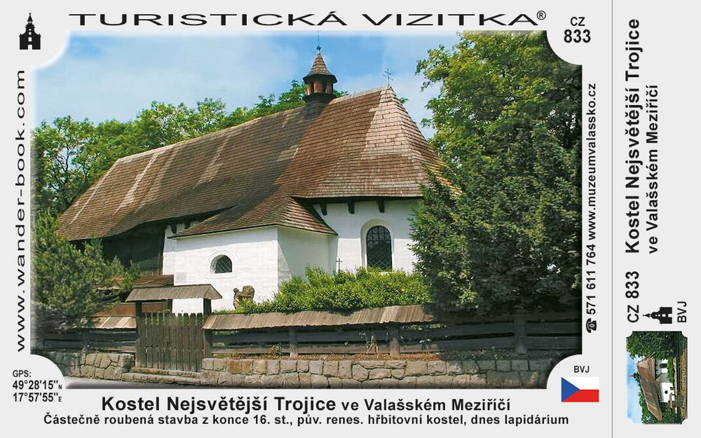 Kostel Nejsv. Trojice ve Valaš. Meziříčí