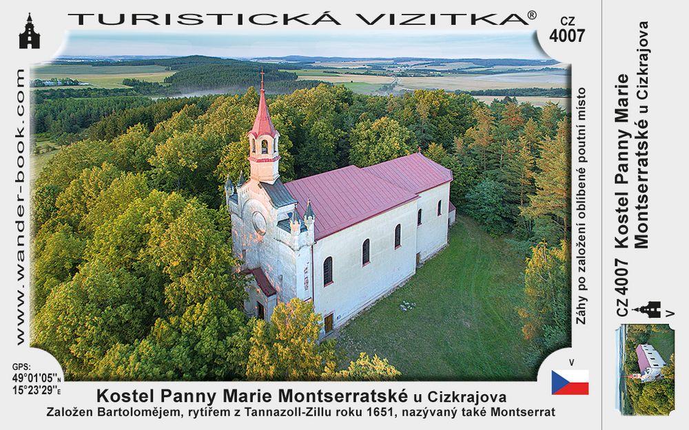 kostel Panny Marie Montserratské u Cizkrajova