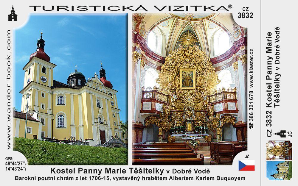 Kostel Panny Marie Těšitelky v Dobré Vodě