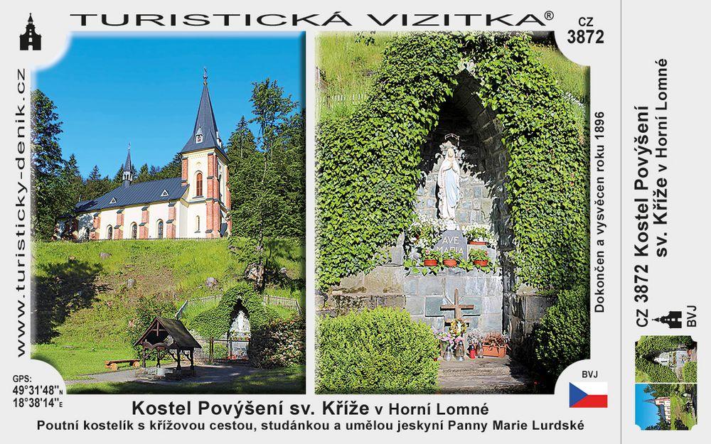 Kostel Povýšení sv. Kříže v Horní Lomné