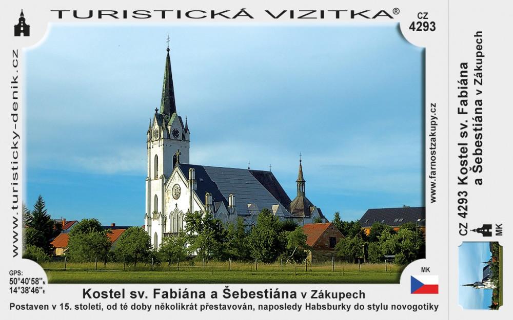 Kostel sv. Fabiána a Šebestiána v Zákupech
