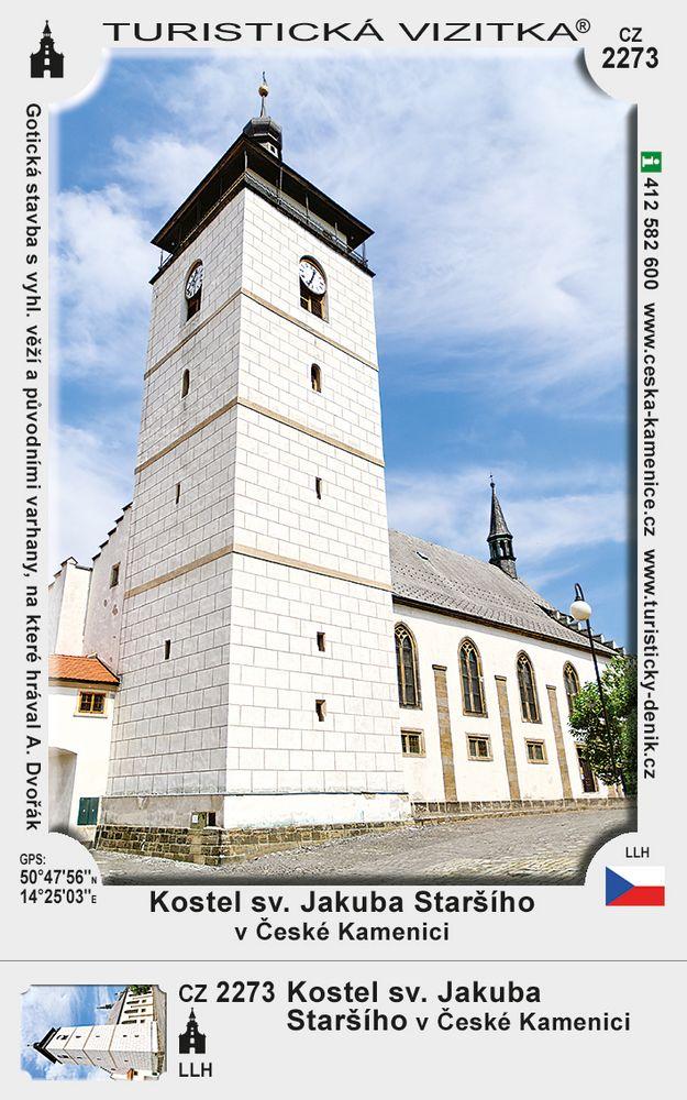 Kostel sv. Jak. Staršího v Čes. Kamenici