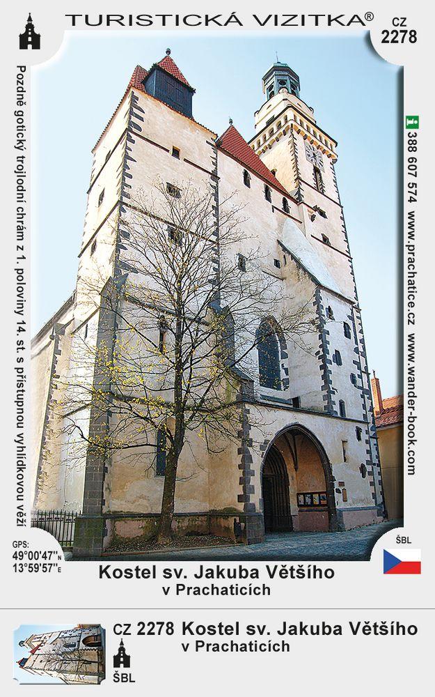 Kostel sv. Jakuba Většího v Prachaticích
