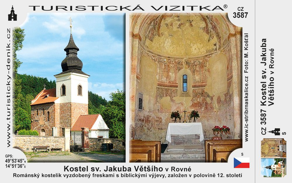 Kostel sv. Jakuba Většího v Rovné