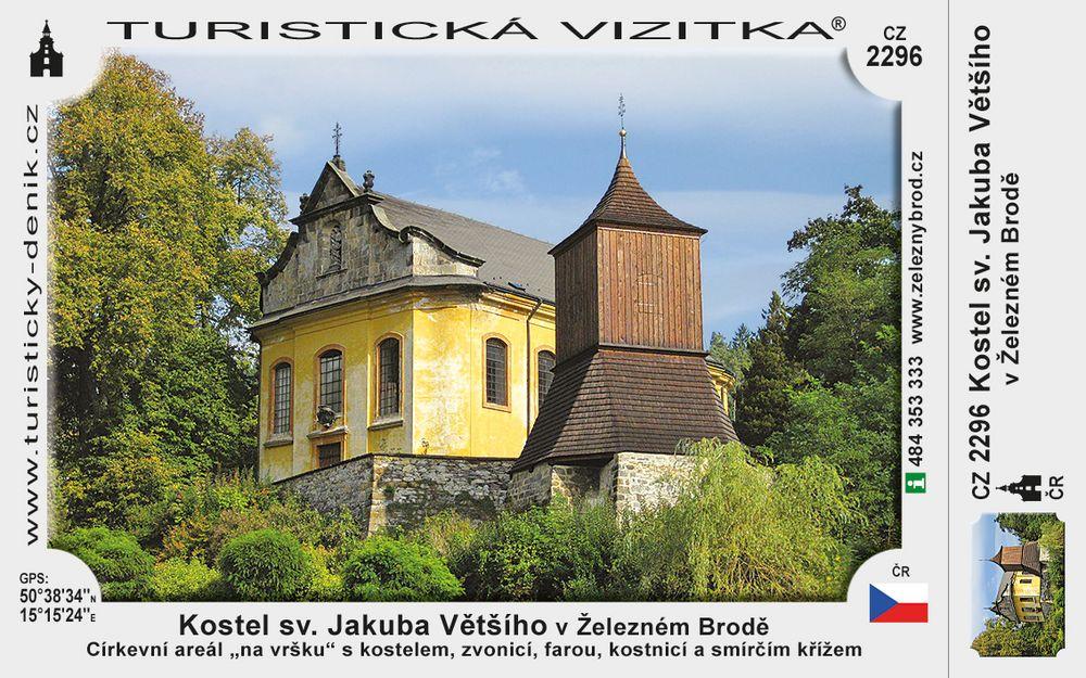 Kostel sv. Jakuba Vetšího v Želez. Brodě