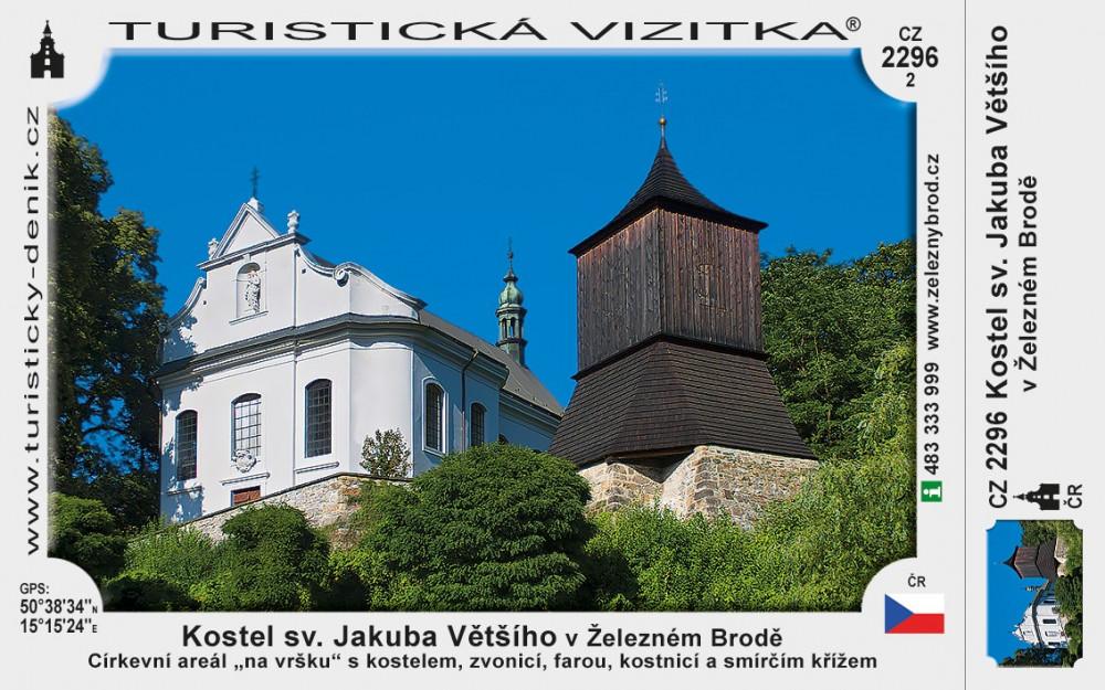 Kostel sv. Jakuba Většího v Železném Brodě
