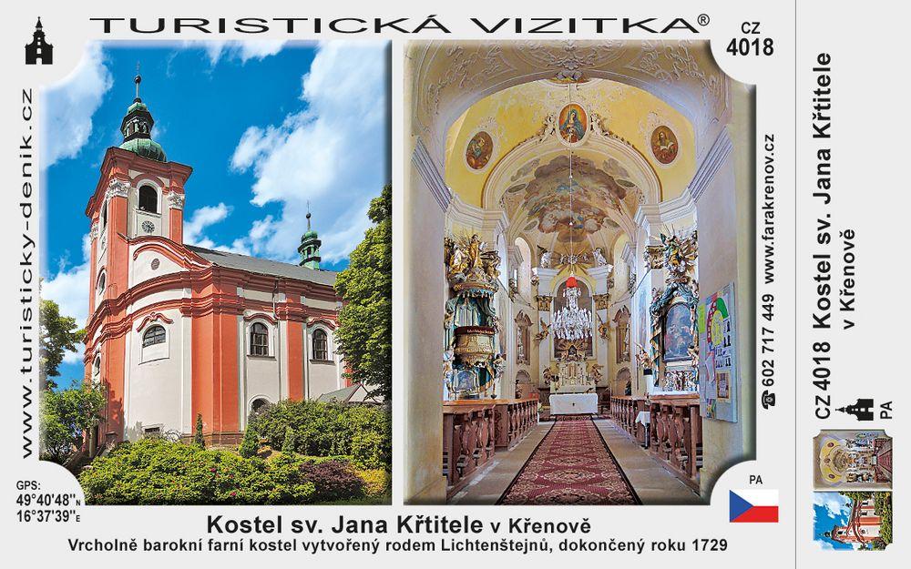 Kostel sv. Jana Křtitele v Křenově