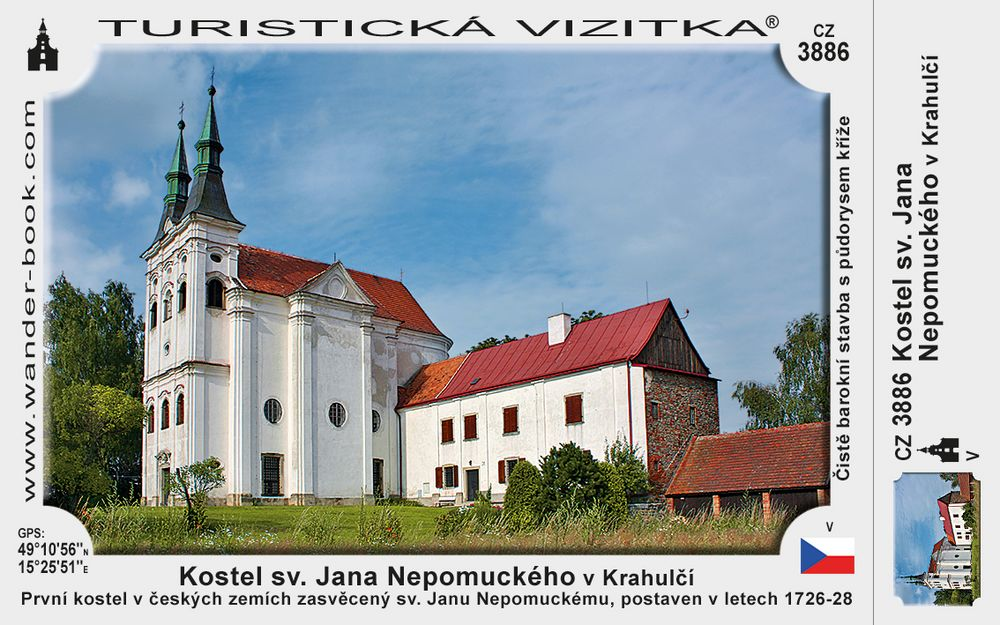 Kostel sv. Jana Nepomuckého v Krahulčí