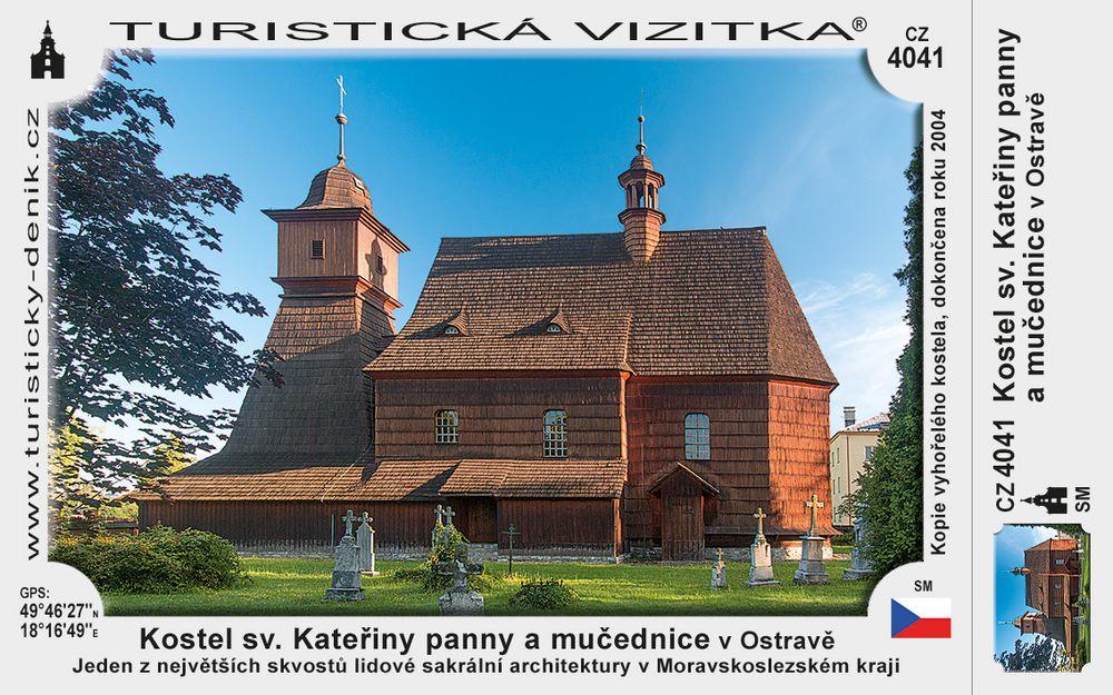 Kostel sv. Kateřiny panny a mučednice v Ostravě