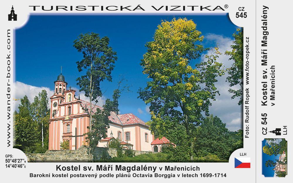 Kostel sv. Máří Magdalény v Mařenicích