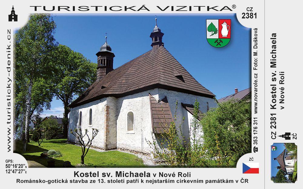Kostel sv. Michaela v Nové Roli