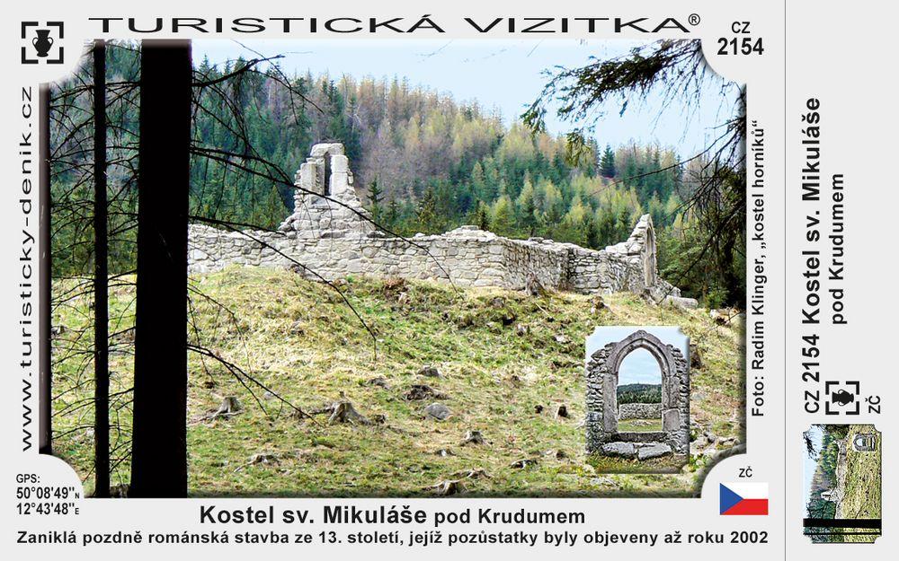 Kostel sv. Mikuláše pod Krudumem