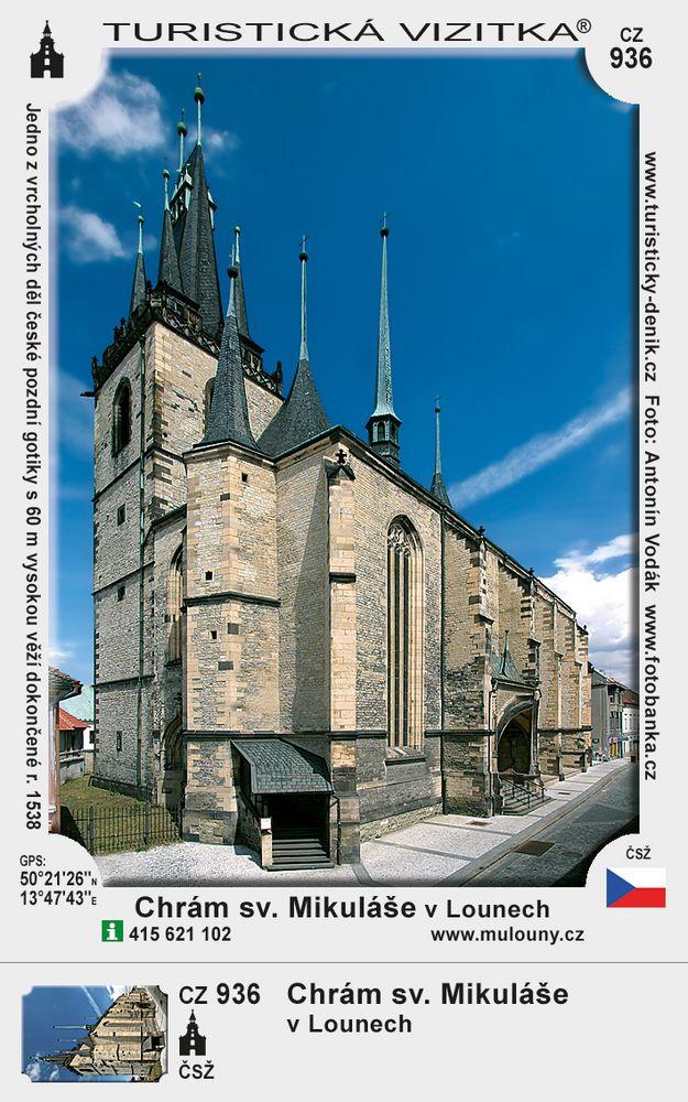 Kostel sv. Mikuláše v Lounech