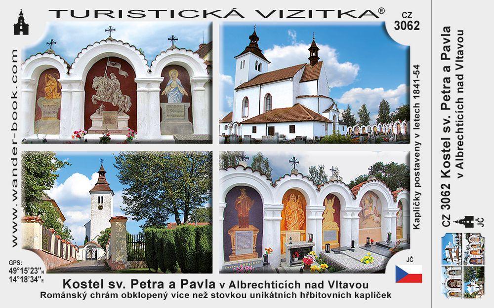Kostel sv. Petra a Pavla v Albrecht. n. Vl.