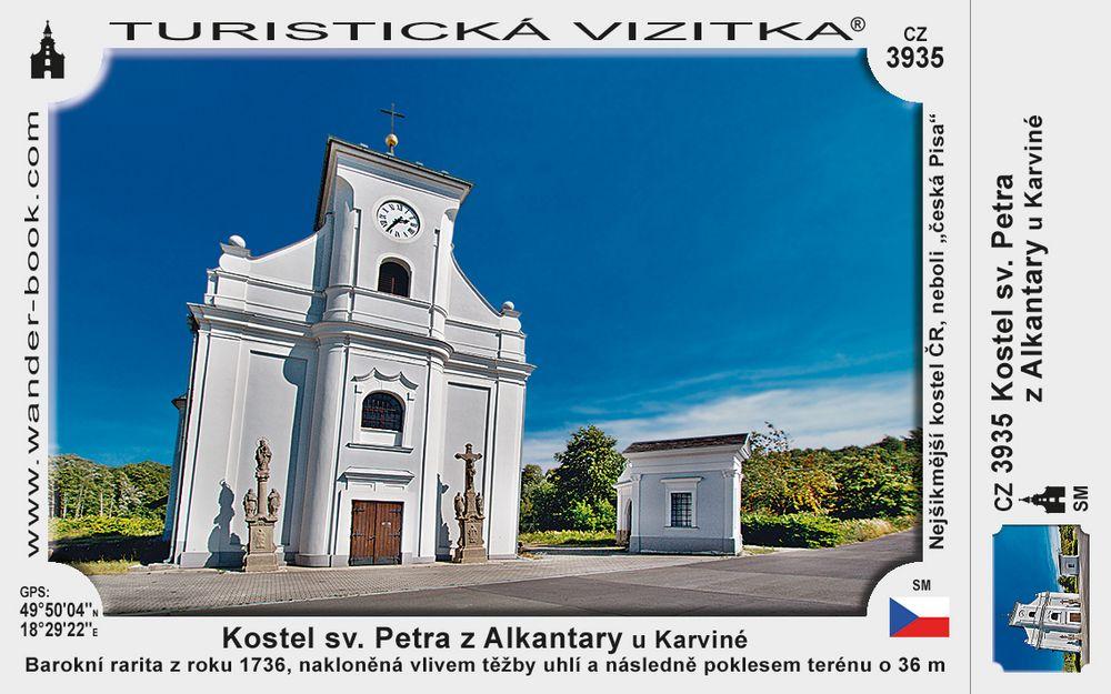 Kostel sv. Petra z Alkantary u Karviné