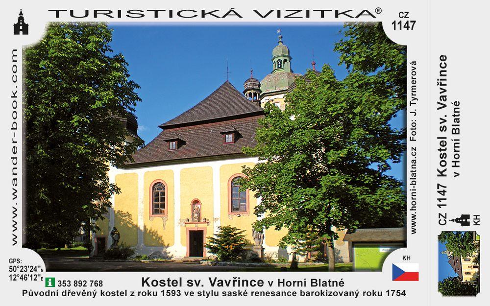 Kostel sv. Vavřince v Horní Blatné