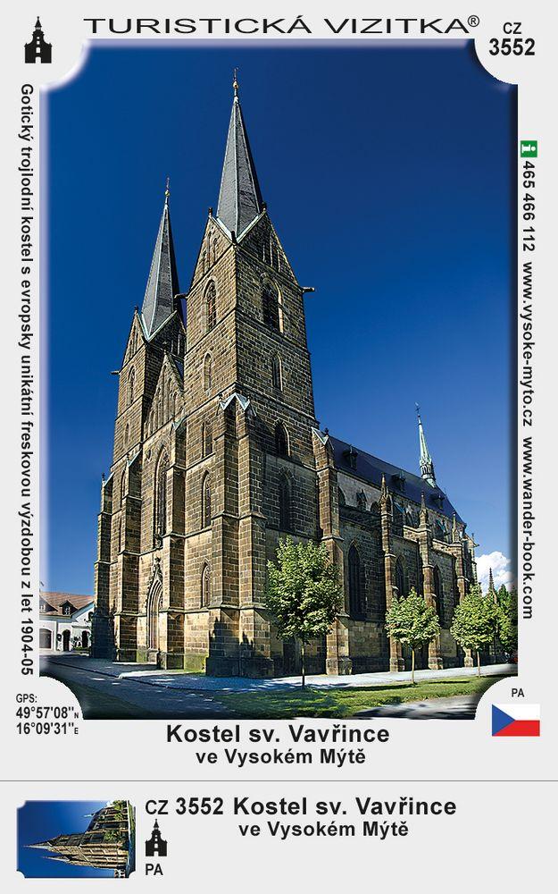 Kostel sv. Vavřince ve Vysokém Mýtě