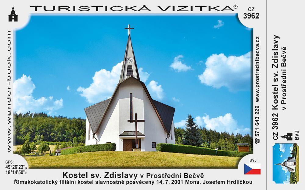 Kostel sv. Zdislavy v Prostřední Bečvě