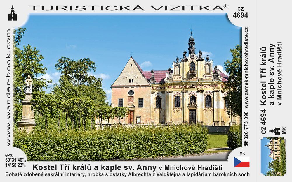 Kostel Tří králů a kaple sv. Anny v Mnichově Hradišti