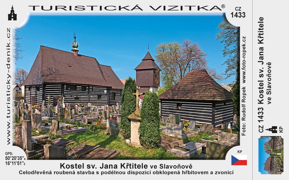 Kostelík sv. Jana Křtitele ve Slavoňově