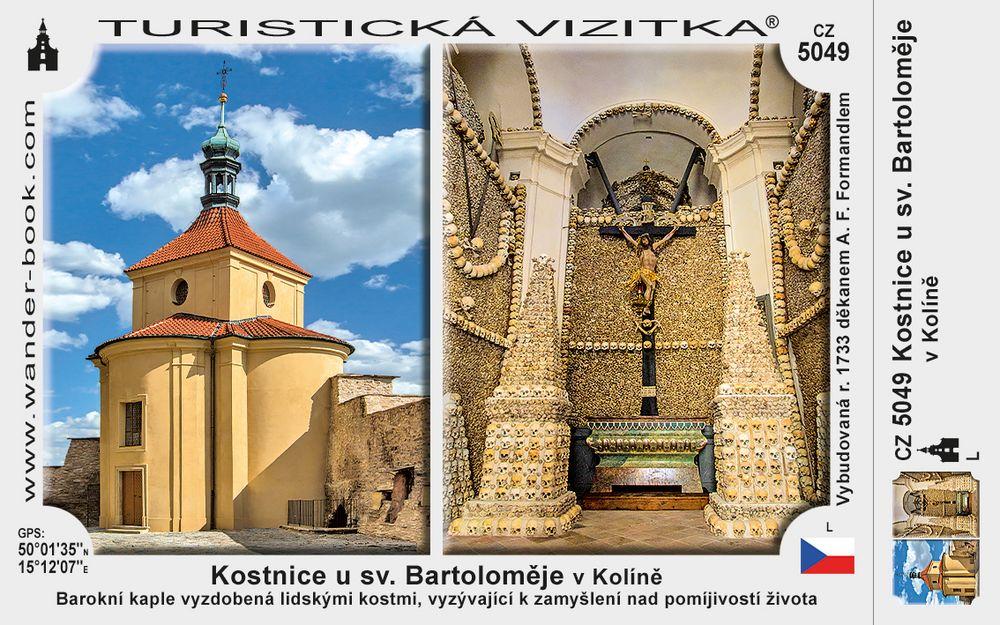 Kostnice u sv. Bartoloměje v Kolíně