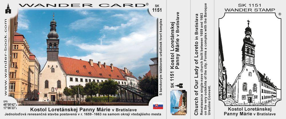 Kostol Loretánskej Panny Márie v Bratislave