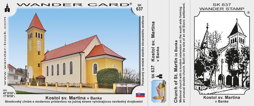 Kostol sv. Martina v Banke