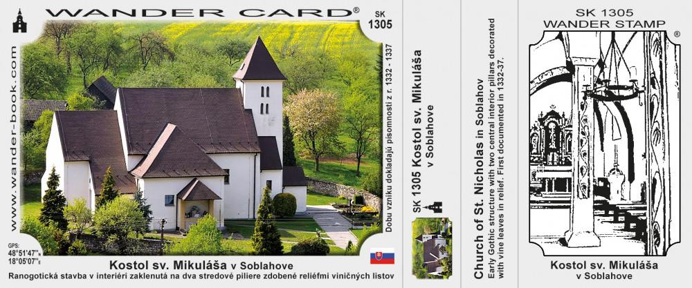 Kostol sv. Mikuláša v Soblahove