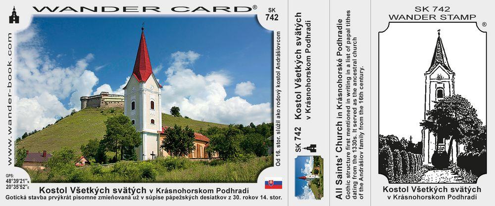 Kostol Všetkých svätých v Krásnohorskom Podhradí