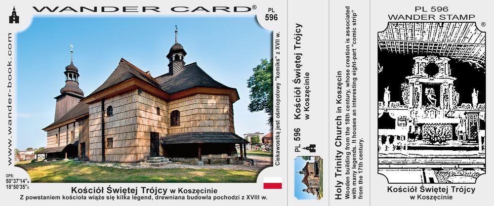 Koszęcin kościół św Trójcy