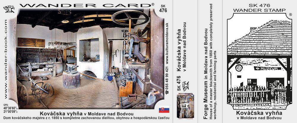 Kováčska vyhňa v Moldave nad Bodvou