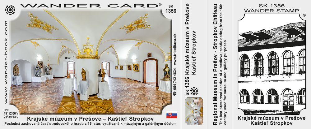 Krajské múzeum v Prešove – Kaštieľ Stropkov