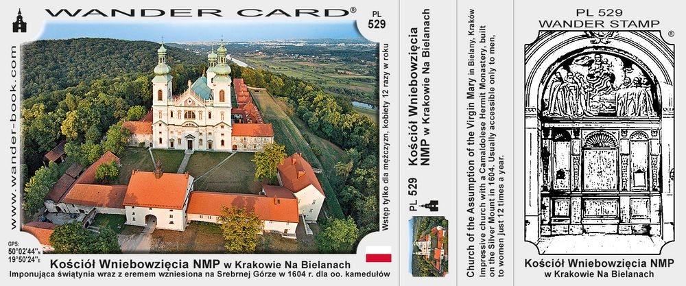 Kraków Bielany kościół NMP