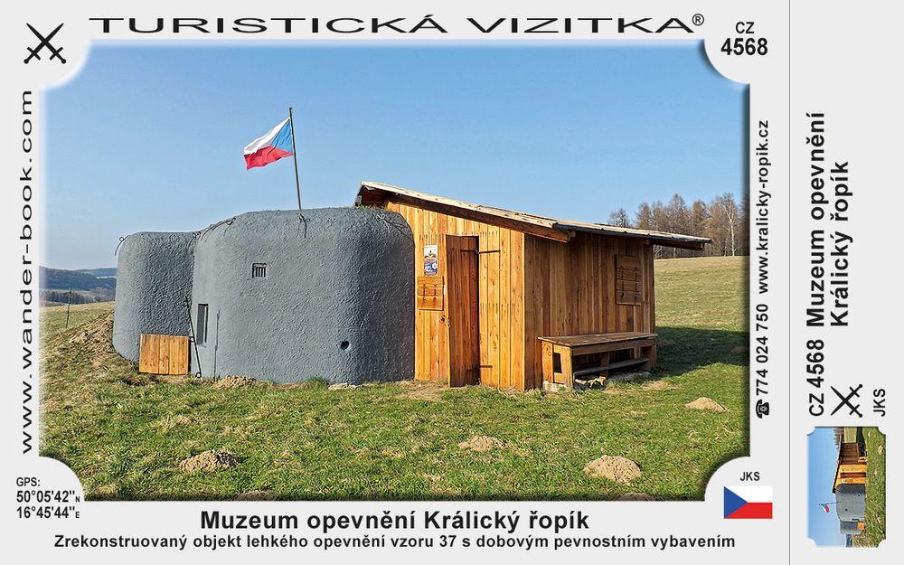 Králický řopík muzeum