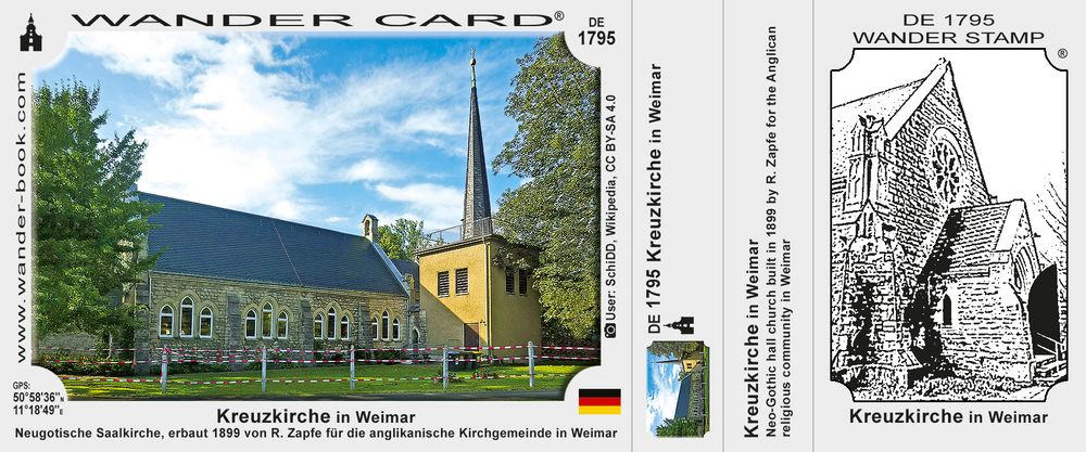 Kreuzkirche in Weimar