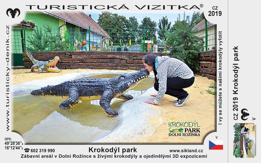 Krokodýl park