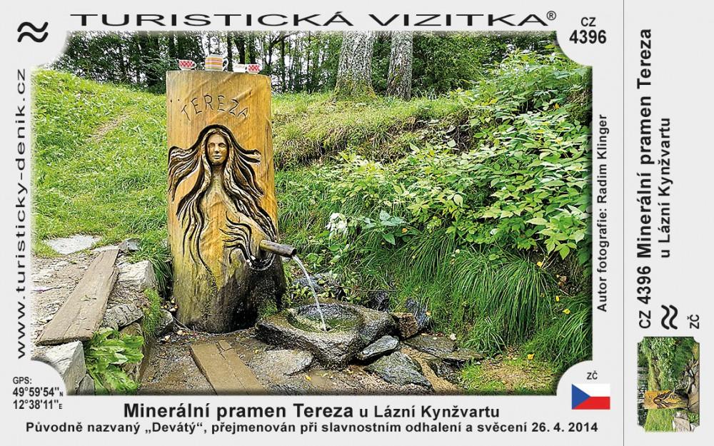 Minerální pramen Tereza u Lázní Kynžvartu