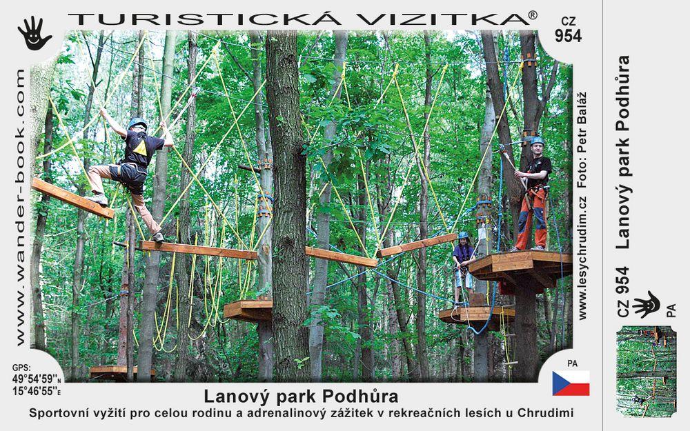 Lanový park Podhůra