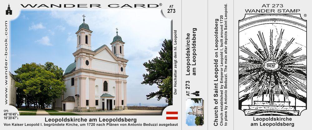 Leopoldskirche am Leopoldsberg