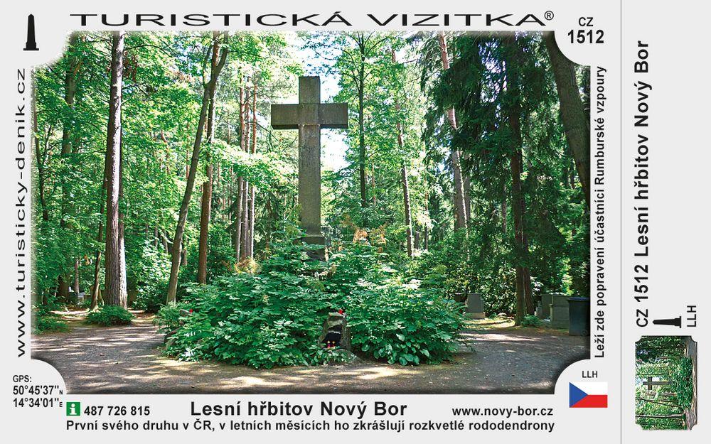 Lesní hřbitov Nový Bor