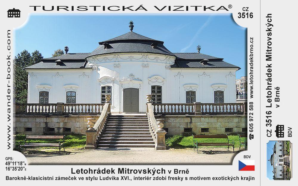 Letohrádek Mitrovských v Brně