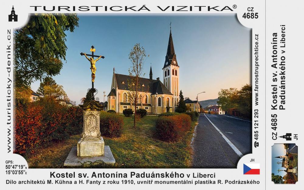 Kostel sv. Antonína Paduánského v Liberci