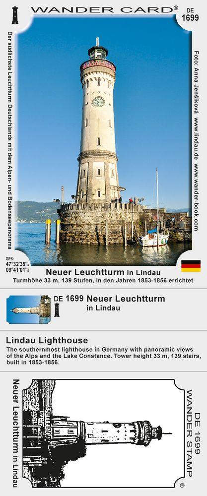 Neuer Leuchtturm in Lindau