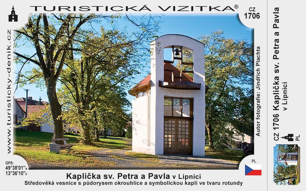 Kaplička sv. Petra a Pavla v Lipnici